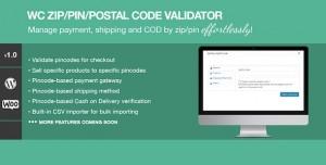 Zip/Pin/Postal Code Validator For WooCommerce v1.2
