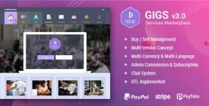 Gigs v3.1 - Services Marketplace - Fiverr & Freelancer Clone - Multi Vendor