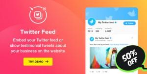 Twitter Feed v1.4.0 - WordPress Twitter Plugin