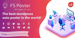 FS Poster v3.5.5 - WordPress auto poster & scheduler