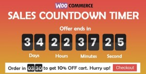 Checkout Countdown v1.0.1 - Sales Countdown Timer for WooCommerce and WordPress
