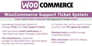 WooCommerce Support Ticket System v1.2.2
