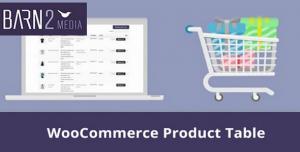 WooCommerce Product Table v2.5.2