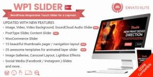 WP1 Slider Pro v1.2.2 - WordPress Responsive Touch Slider for a Layman