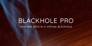 Blackhole Pro v2.4 - Trap Bad Bots In a Virtual Blackhole