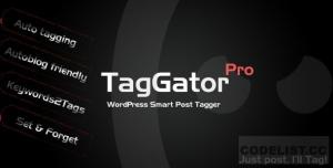 TagGator Pro v2.0 - WordPress Auto Tagging Plugin