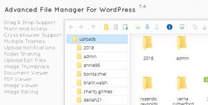 File Manager Plugin For Wordpress v7.5.1