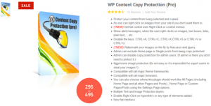 WP Content Copy Protection Pro v8.4