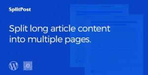 Epic Split Post v1.0.5 - Post Content Splitter as Slider