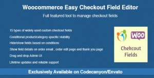 Woocommerce Easy Checkout Field Editor v2.0.5