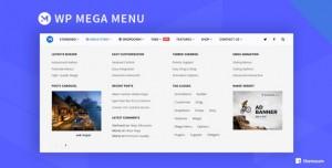 WP Mega Menu Pro v1.3.3