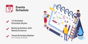 Events Schedule v2.5.16 - Events WordPress Plugin